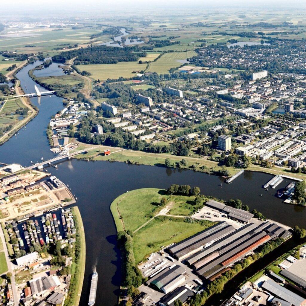 Een winnende holistische visie op de Stadsdijken Zwolle